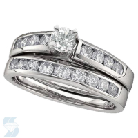 2194 0.52 Ctw Bridal Engagement Ring