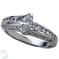 02230 1.04 Ctw Bridal Engagement Ring