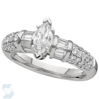 02280 1.29 Ctw Bridal Engagement Ring