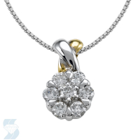 2304 0.48 Ctw Fashion Pendant