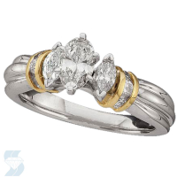 02475 1.00 Ctw Bridal Engagement Ring