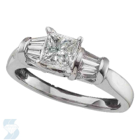 02499 0.98 Ctw Bridal Engagement Ring