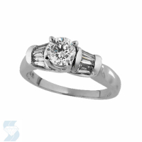 2500 0.98 Ctw Bridal Engagement Ring
