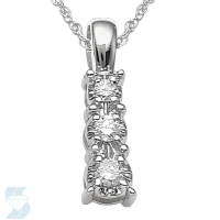 02557 0.24 Ctw Fashion Pendant