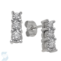 2558 0.24 Ctw Fashion Earring