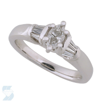 2641 0.60 Ctw Bridal Engagement Ring