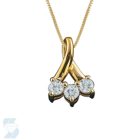 2652 0.22 Ctw Fashion Pendant