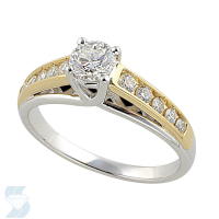 2673 0.73 Ctw Bridal Engagement Ring