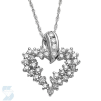 2849 0.51 Ctw Fashion Pendant