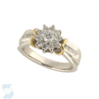 2854 0.69 Ctw Fashion Ring