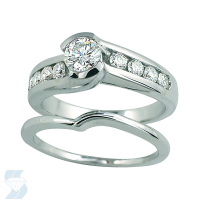 02865 0.99 Ctw Bridal Engagement Ring