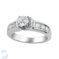 02867 0.93 Ctw Bridal Engagement Ring