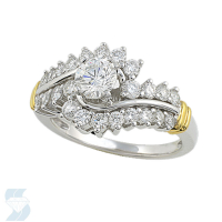02869 1.28 Ctw Bridal Engagement Ring
