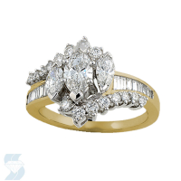 02884 1.46 Ctw Bridal Engagement Ring