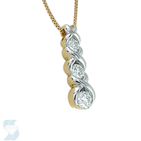 2899 0.49 Ctw Fashion Pendant