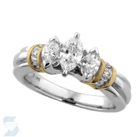 3057 0.98 Ctw Bridal Engagement Ring