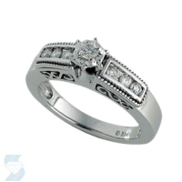 3077 0.49 Ctw Bridal Engagement Ring