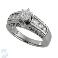 3078 0.96 Ctw Bridal Engagement Ring