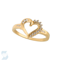 03124 0.11 Ctw Fashion Fashion Ring
