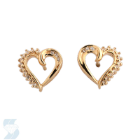 03126 0.10 Ctw Fashion Earring