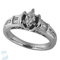 03251 0.55 Ctw Bridal Engagement Ring