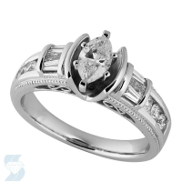 03252 1.00 Ctw Bridal Engagement Ring