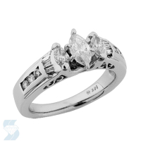 03314 1.05 Ctw Bridal Engagement Ring