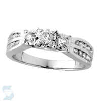 03526 0.53 Ctw Bridal Engagement Ring
