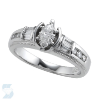 3527 0.53 Ctw Bridal Engagement Ring