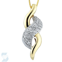 3556 0.24 Ctw Fashion Pendant