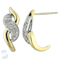03557 0.31 Ctw Fashion Earring