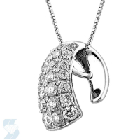 3570 0.52 Ctw Fashion Pendant
