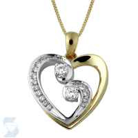 3574 0.24 Ctw Fashion Pendant
