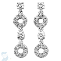 3602 0.49 Ctw Fashion Earring