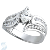 3618 0.91 Ctw Bridal Engagement Ring