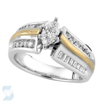 3619 0.85 Ctw Bridal Engagement Ring