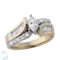 3629 1.13 Ctw Bridal Engagement Ring