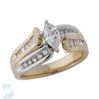 3646 0.94 Ctw Bridal Engagement Ring