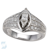 03680 0.76 Ctw Bridal Engagement Ring