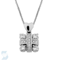 3686 0.32 Ctw Fashion Pendant