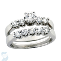 3734 0.90 Ctw Bridal Engagement Ring