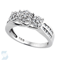 3735 0.52 Ctw Bridal Engagement Ring