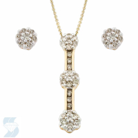 3740 0.49 Ctw Fashion Pendant
