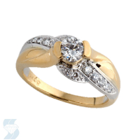3756 0.74 Ctw Bridal Engagement Ring