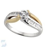 03757 0.95 Ctw Bridal Engagement Ring