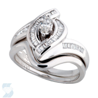 3763 0.47 Ctw Bridal Engagement Ring