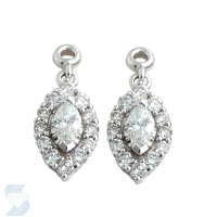 3771 0.49 Ctw Fashion Earring
