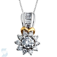 3790 0.63 Ctw Fashion Pendant