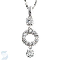 3793 0.48 Ctw Fashion Pendant