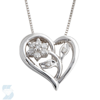 3804 0.08 Ctw Fashion Pendant